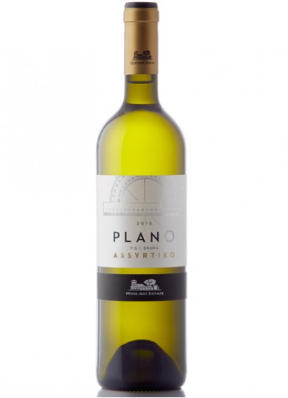 Wine Art Estate-Plano Assyrtiko